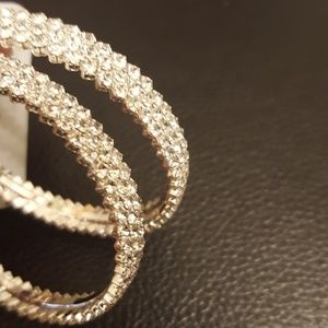 Celebration/Bridal Hoop Earrings